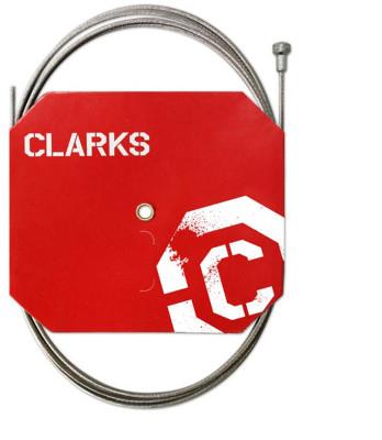 Clarks Road Die-Drawn S/S Inner Brake Wire W1.5Mm X L2000Mm Pear Nipple Dispenser Box (100Pcs)