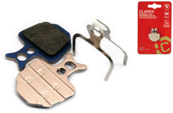 Clarks Elite Semi-Metallic Disc Brake Pads For Formula Oro