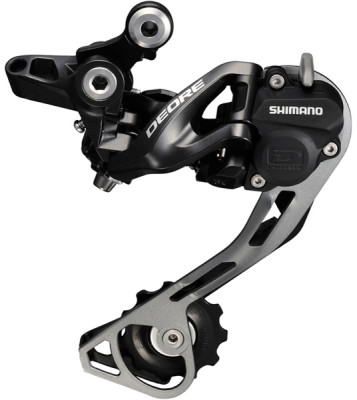Shimano RD-M615 Deore 10-speed Shadow+ design rear derailleur, SGS, black