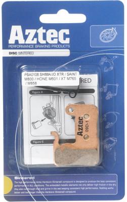 Aztec Organic disc brake pads for Shimano M965 XTR / M966 callipers