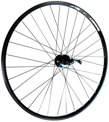 Wilkinson Wheels Wilkinson 29Er Front Wheel - Black Double Wall Mach 1 820 Disc Rim - Q/R Shimano Deore Hub, 32 Hole