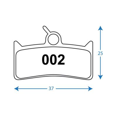 RWD - R029 Sintered Pads (Pair) Avid Elixir; Sram XO  XX