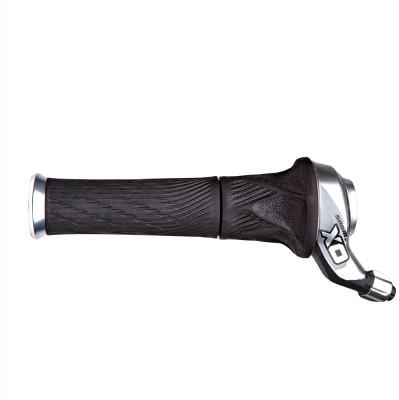 Sram X0 Shifter - Grip Shift - Set 2X10 - Inc. Lock-On Grips - Red