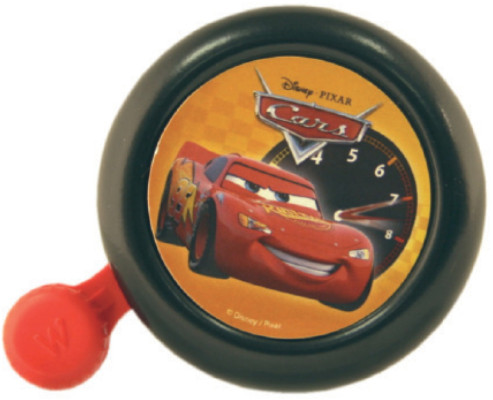 Widek Disney Cars Bell Carded