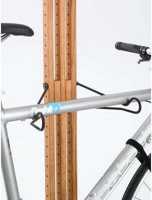 Gear Up Extra Bike Kit (2 arms to hold 1 extra bike) for OakRaks - Walnut finish