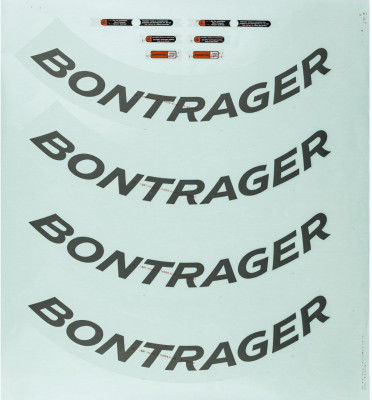 Bontrager Aeolus 7 D3 Rim Decal Sets