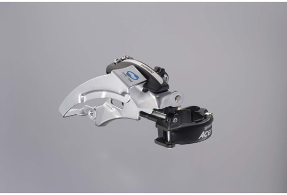 Shimano FD-M360 Acera front derailleur, dual-pull, multi-fit, top swing