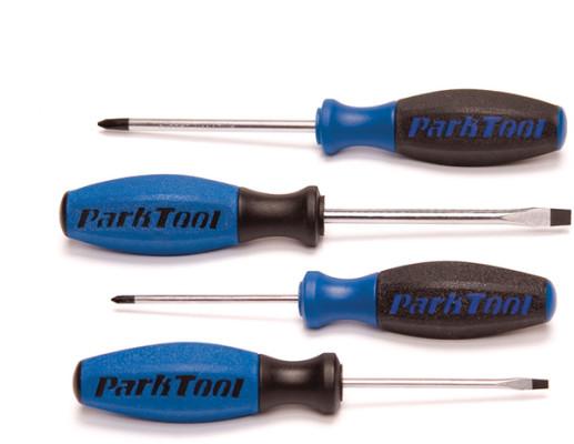 Park Tool SD-SET - Set Of 4 Screwdrivers 0 / 2 / 3 / 6