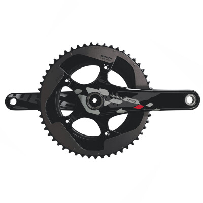 Sram Red 10 Speed Crank Set Exogram Bb30 177.5 53-39 Bearings Not Included