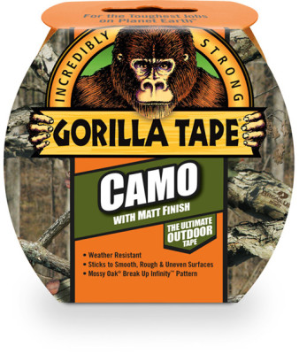 Miscellaneous Wholesale Gorilla Camo Tape 8.2m x 48mm Roll Pack of 8