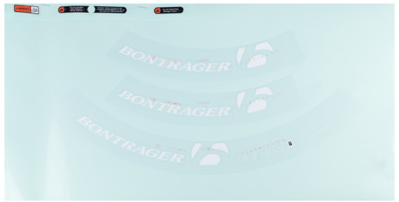 Bontrager Wheelsystem Replacement Aeolus XXX 6 Decals
