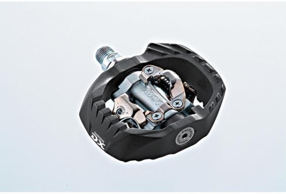 Shimano PD-M647 MTB SPD pedals - pop-up mechanism