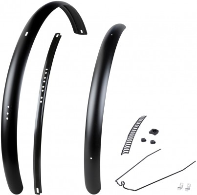 E-Bike Trek Diamant 60mm Rack Battery Fender Kit