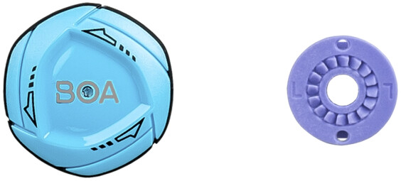 Bontrager Shoe Replacement BOA IP1 Left Dial