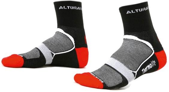 Thermolite Comp Sock Black L