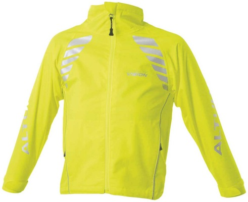 Children'S Night Vision Jacket Yellow Age 10 - 12