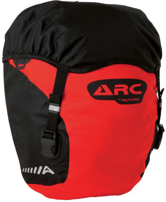 Arc 40 Panniers (Pair) Red