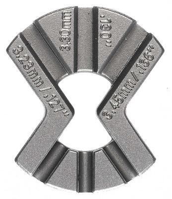 Triple Spoke Key