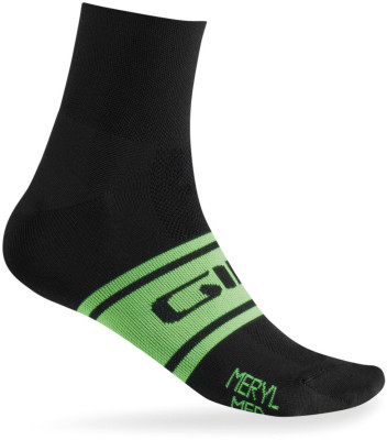 Classic Racer Cycling Socks White/Black L