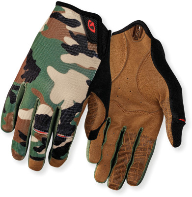 Dnd Mtb Cycling Gloves Green/Black L