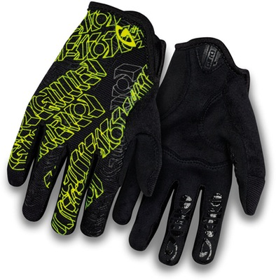 Dnd Junior Cycling Gloves Black/Yellow L