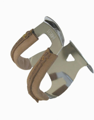 Mks Half Toe Clip With Leather Protecttion