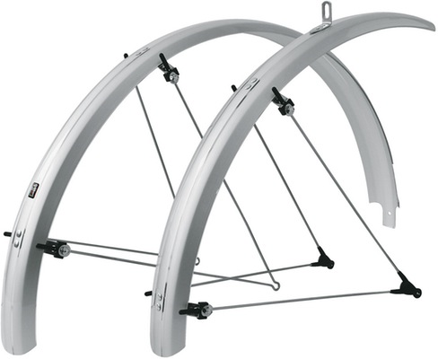 Bluemels Mudguard Mountain 60Mm Silver 60Mm 26""